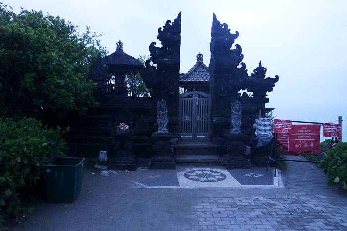 One of the temples in Tanah Lot.