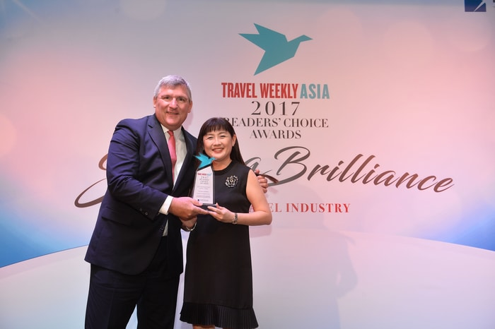 Marriott International Named Best International Hotel Chain at Travel Weekly Asia Readers' Choice Awards