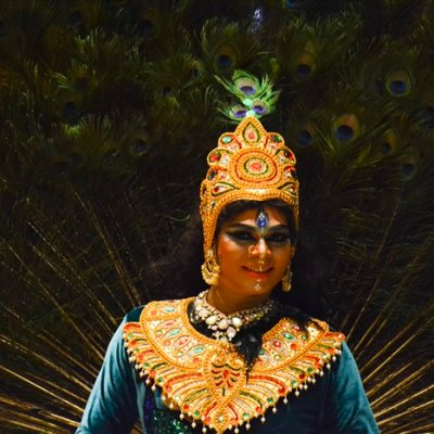 PEACOCK-classical dance by Kuna Dancers.