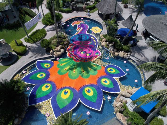 Golden Sands Resort, Penang Creates the Largest Floating 'Kolam' in Malaysia