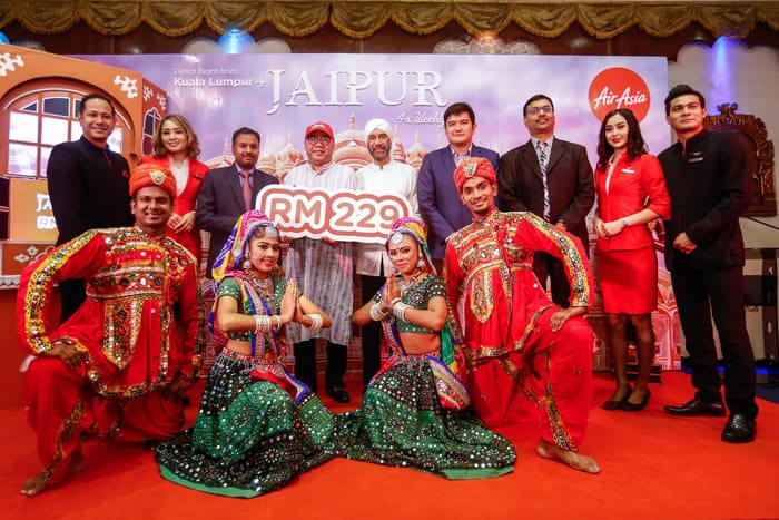AirAsia X Launches Direct Flight to Jaipur, India from Kuala Lumpur!