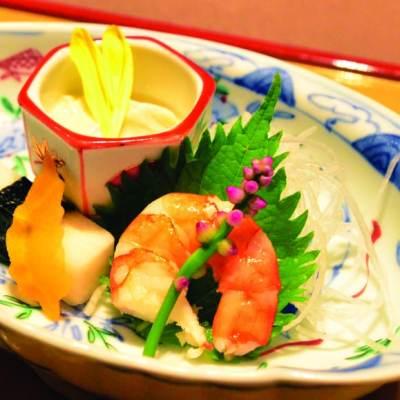 8-course kaiseki dinner