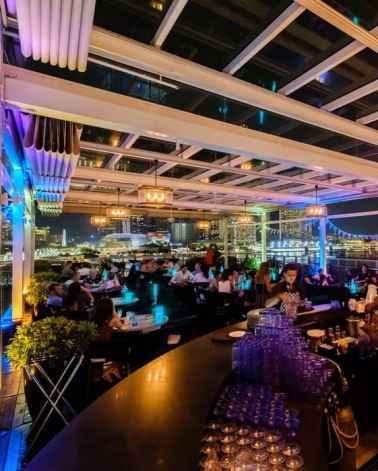 Lantern at The Fullerton Bay Hotel Singapore