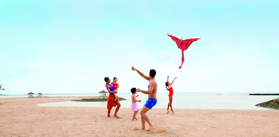 Club Med Bali essentially exists to serve families and active couples