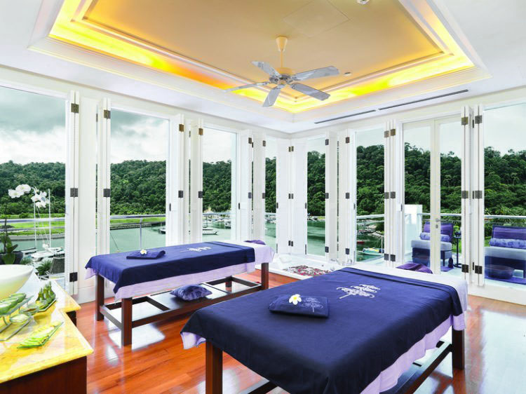 The Danna Langkawi - Expert therapists at The Danna Spa who provide various treatments using pure and natural products such as Tanamera and Pevonia