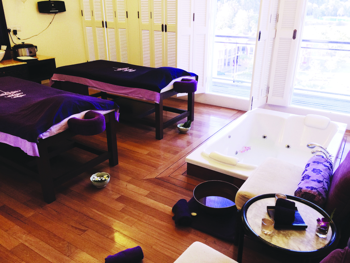Rest your mind and pamper yourself at The Danna Spa