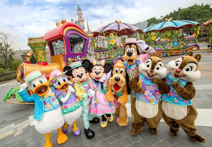 Disney Friends Springtime Carnival