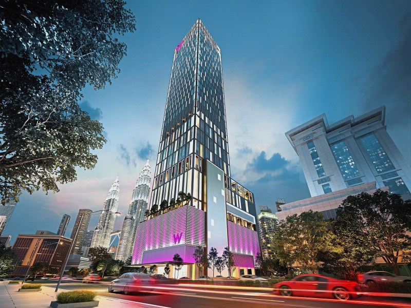 W Hotels Set to Arrive in Malaysia with the Debut of W Kuala Lumpur