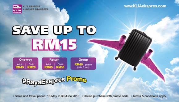 Balik Kampung with KLIA Ekspres!