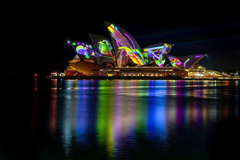 Lights On! City Sparkles as Vivid Sydney Lights Up for 10th Anniversary Celebrations