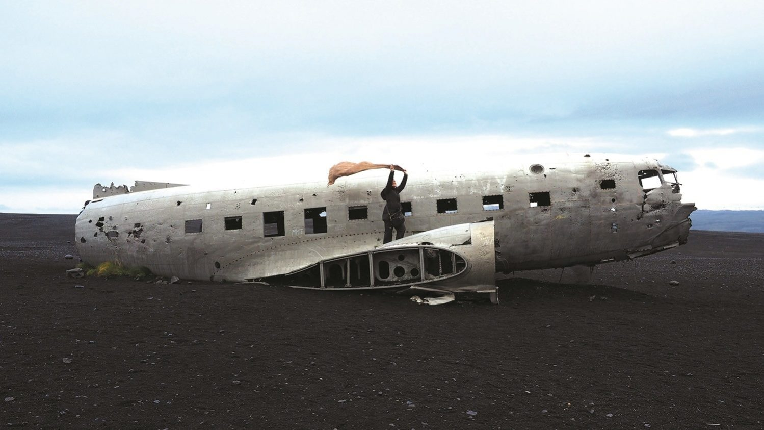 On November 24, 1973 a United States Navy plane crashed onto the beach in South Iceland, and thankfully there were no casualty. The Solheimasandur Plane Wreck is one of the most visited attractions in South Iceland - be prepared to walk 4 kilometres to reach here!