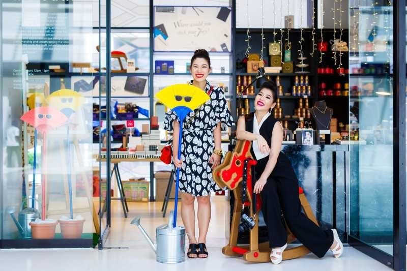 2 Sisters, 1 Passion: Shen-Tel and Elizabeth Shares the Joy of Collecting Culture and Design in Colourful Singapore