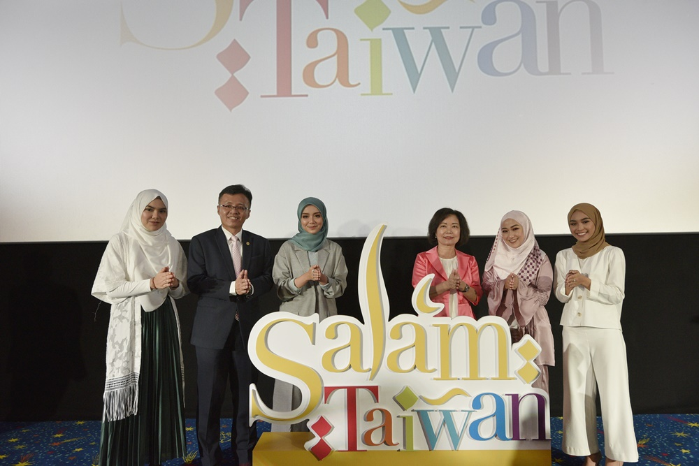 Taiwan Extends Salam to Malaysians and Bruneians