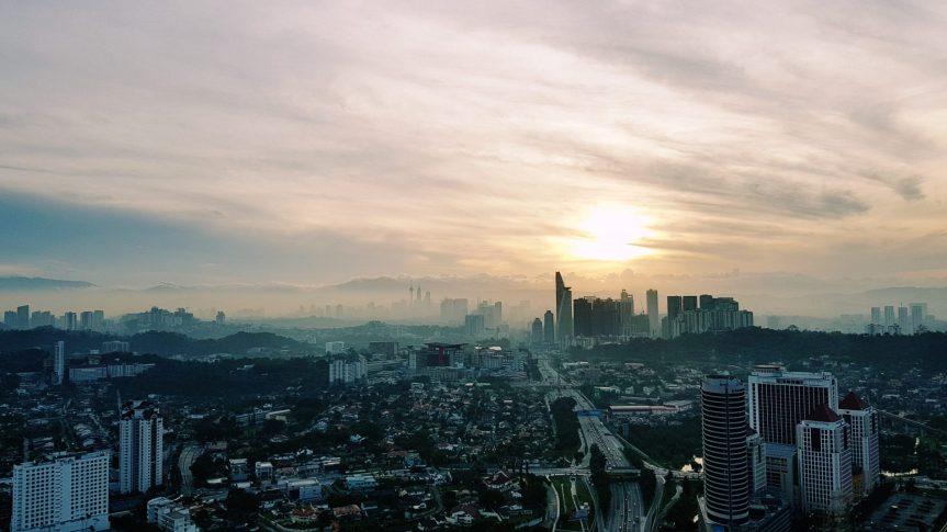 Panoramic view of Klang Valley.