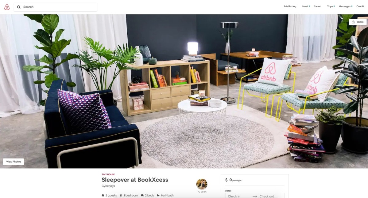Win a Sleepover in a BookXcess Bookstore with Airbnb