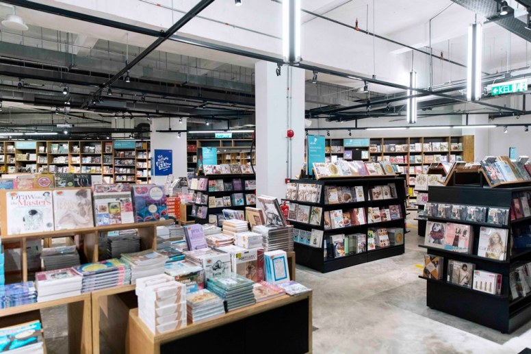 Be prepared to lose yourself while exploring the 37,000 square feet store and fall asleep surrounded by over 500,000 books.