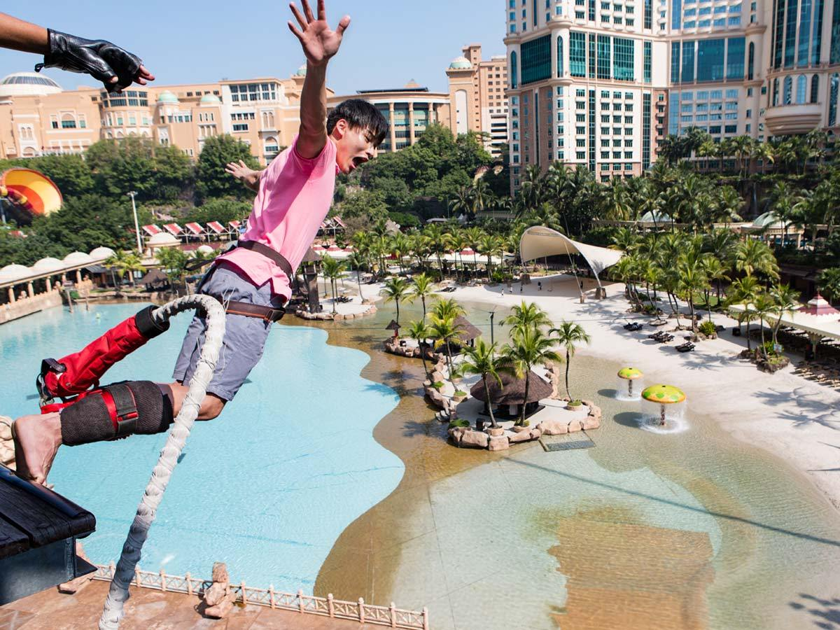 Bungee jump at Sunway Lagoon (Picture from website)