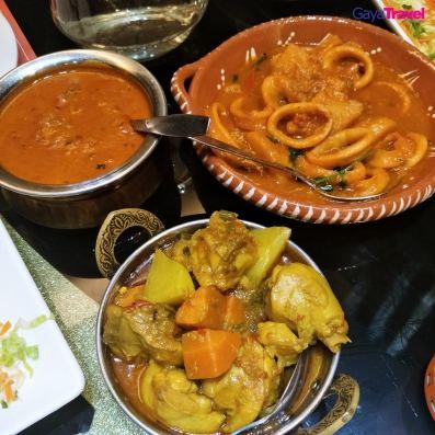 Cuisines at Taste of India