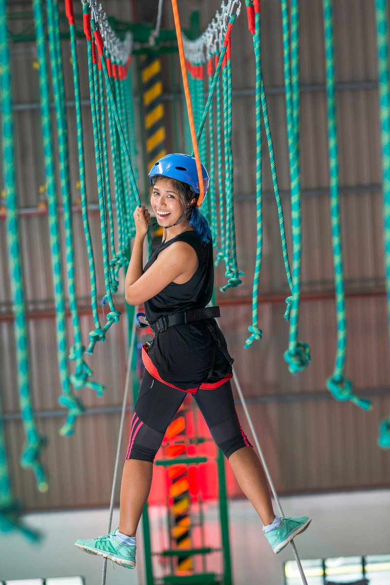 Sky Ropes at EnerZ (Picture from website)