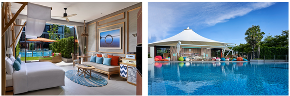 The new One-bedroom SO Pool Villas and SO Family Suites