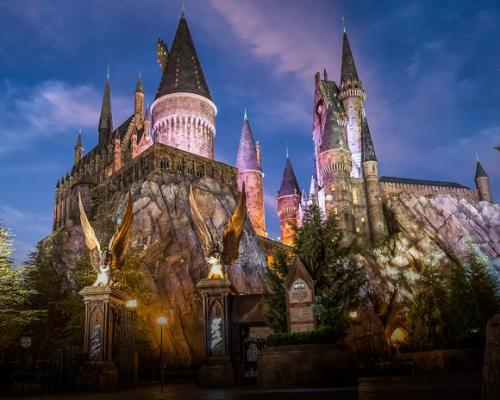 Harry Potter Forbidden Journey Ride at Universal Studio