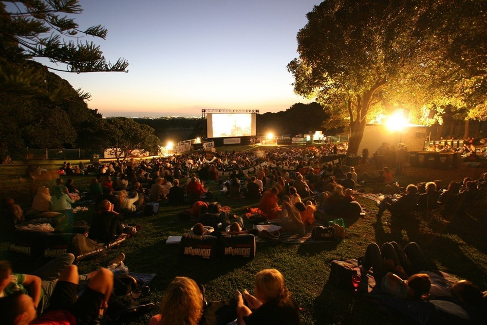 Centennial Park - outdoor cinema at its best. Belvedere Amphitheatre, Centennial Park, Sydney. (Photo credit: Destination New South Wales)