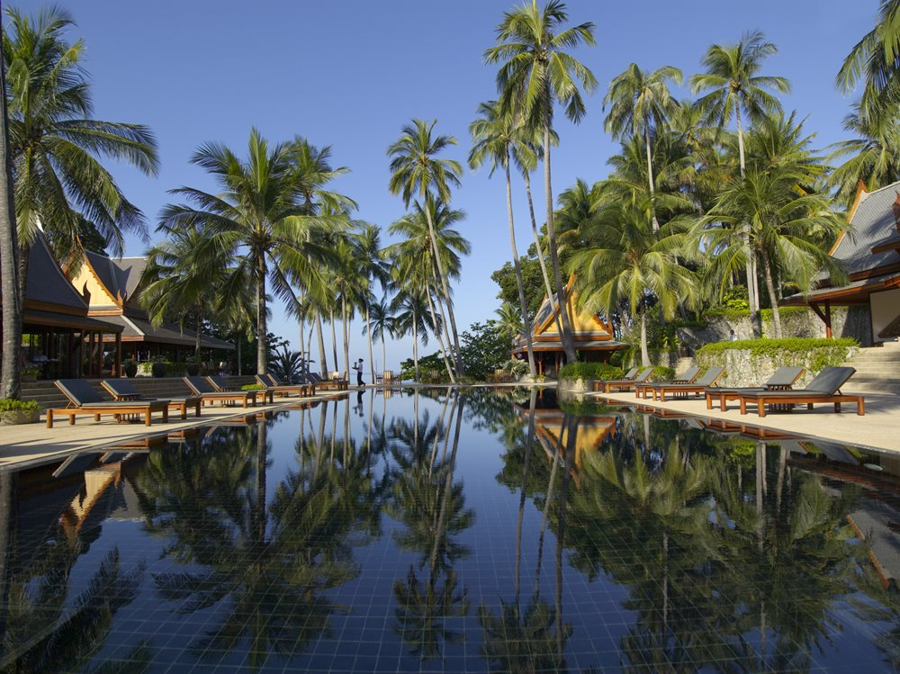 Swimming Pool at Amanpuri (Picture Credit: Aman Resorts)