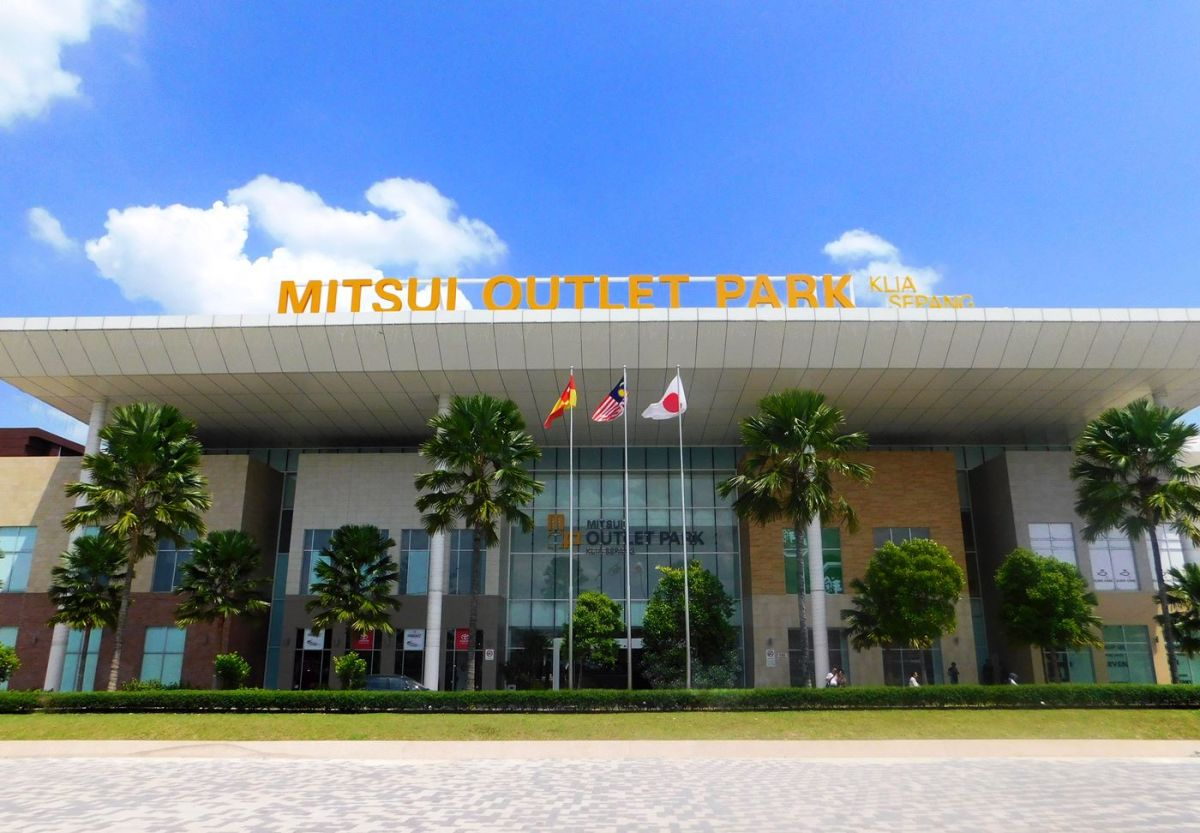 10. Mitsui Outlet Park, KLIA - Credit 12fly.com.my
