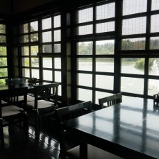 The dining area in Kogetsu.