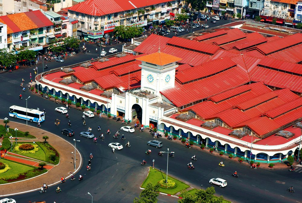 Immerse yourself in local culture at the Ben Thanh Market