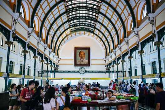 The iconic Ho Chi Minh City Post OfficePhoto © Vietnam National Administration of Tourism