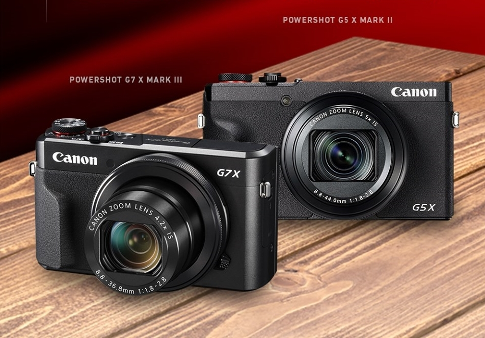 Canon Introduces Latest PowerShot G Series and Its First Entry- Level RF Series Zoom Lens