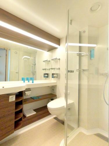 Bathroom in Balcony Stateroom