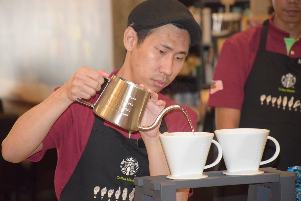 The World's First Starbucks Signing Store Celebrates Three Years of Silent Brewing