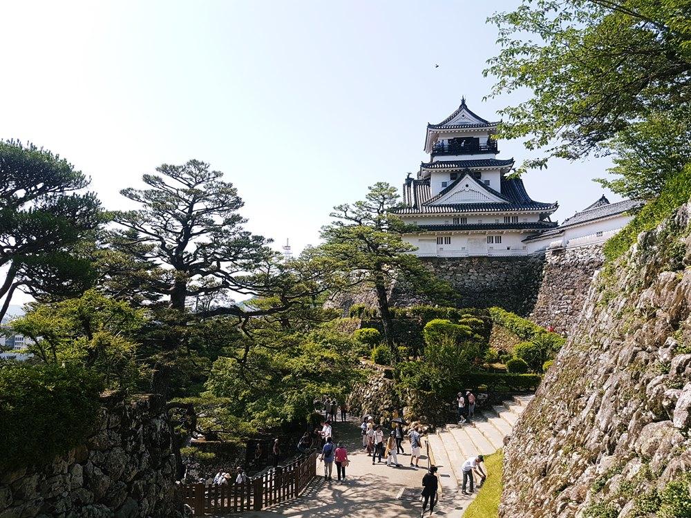Kochi's hilltop samurai castle