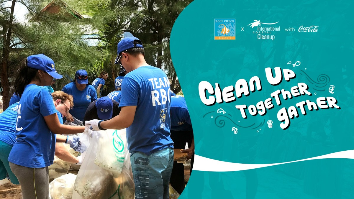 Reef Check and Trash Hero Malaysia Collaborate for Nationwide Clean Up Effort
