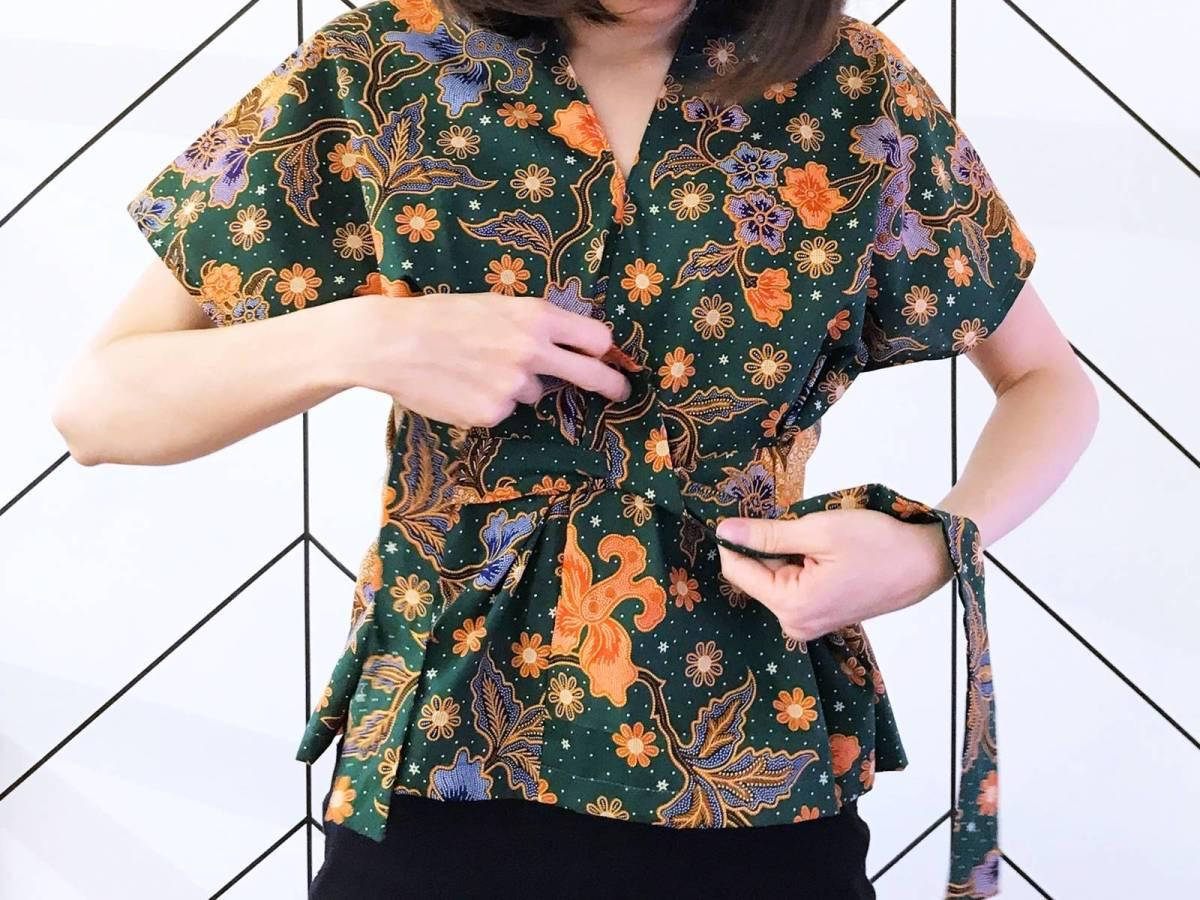 Sew a Batik Blouse