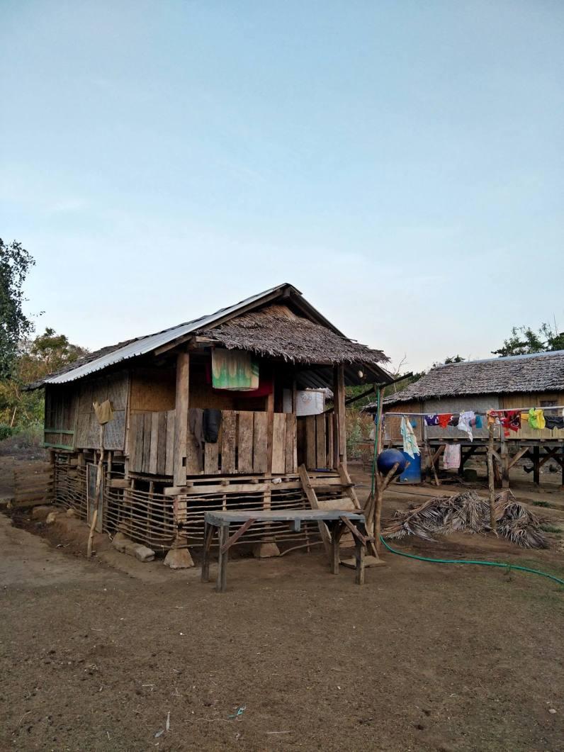 Village house at Moyo Island