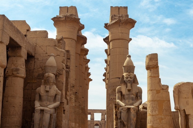Luxor Temple (Image by Ramon Perucho from Pixabay)