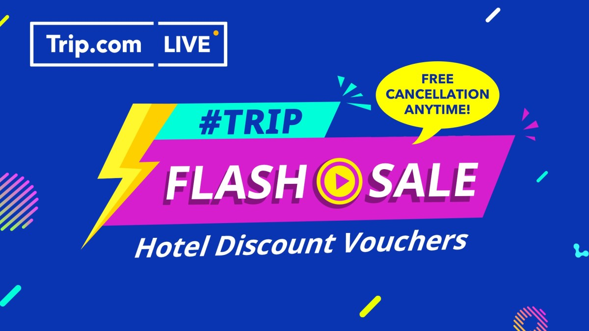 First Trip.com Malaysia Livestream Sales Event to Take Place 28 July