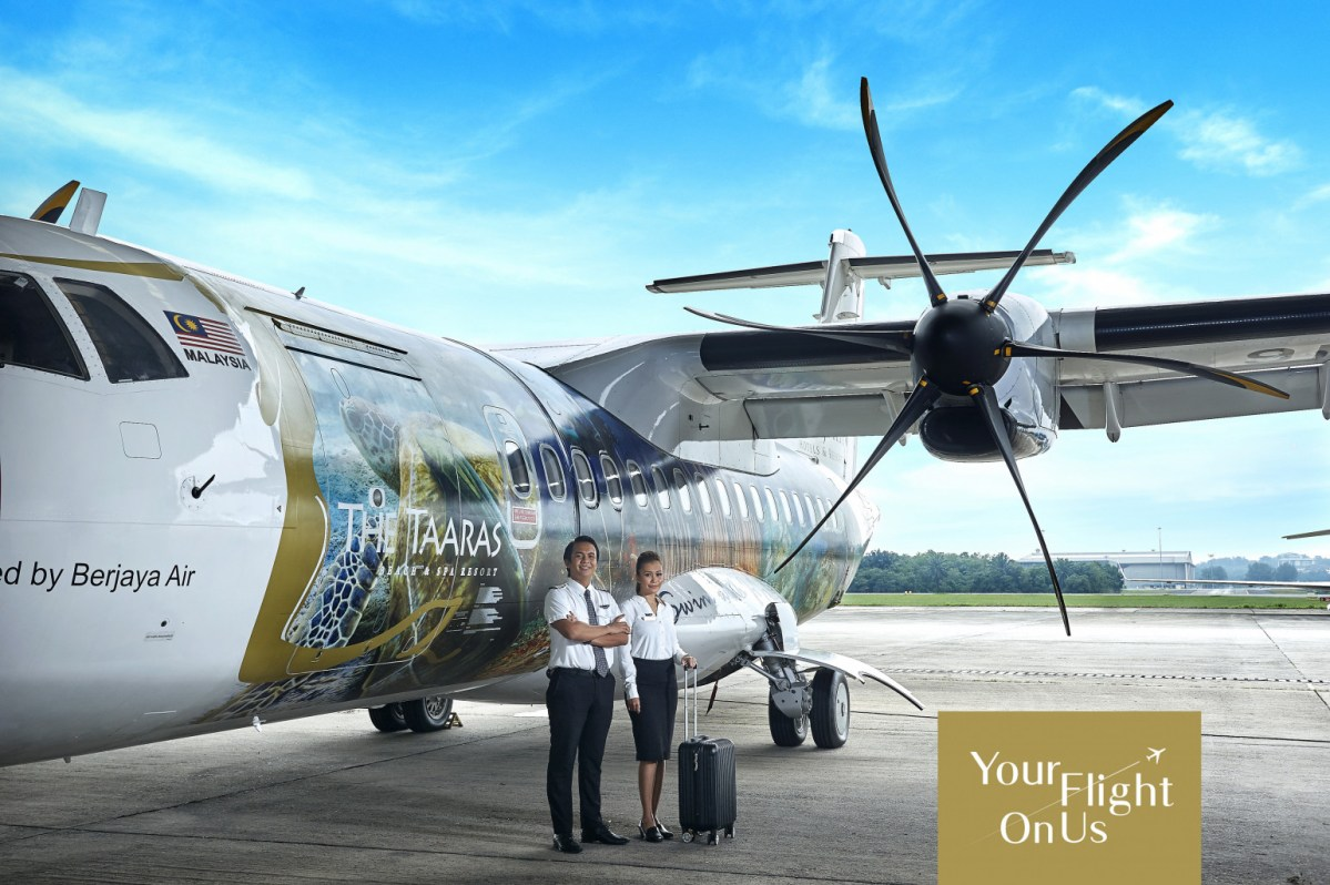 The Taaras Beach Spa Resort Offers Complimentary Flight to Redang Island