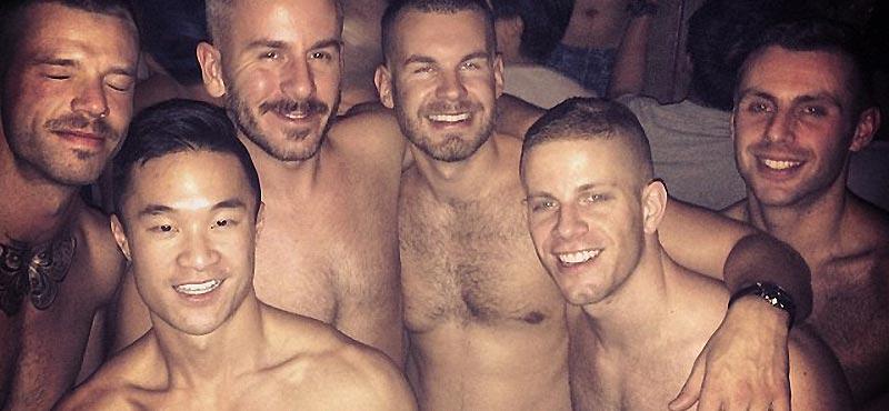 gay sex mud clothed