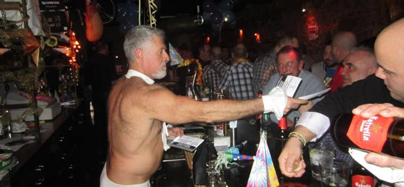 New CHAPS gay bar Barcelona