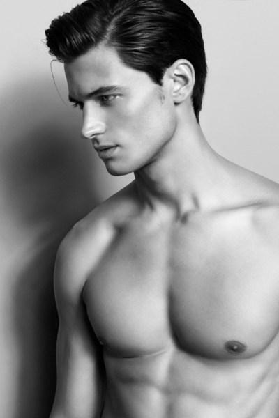 Handsome and Athletic Garrett Neff