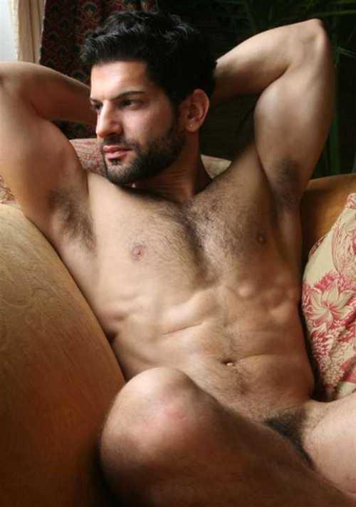 Sam Devries - Hairy Nude