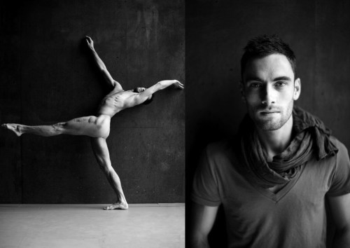 The Naked Dance by Yang Wang - Handsome Male Nude Dancer