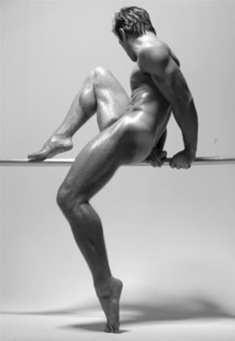 Joseph Sayers - Hot and arty pose