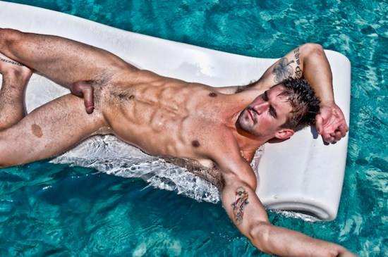 Benjamin Godfre nude by Carl Procter
