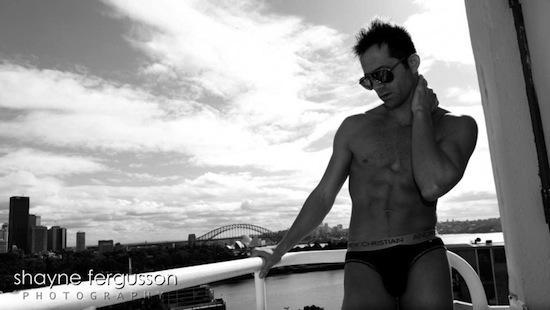 Hairy Male Model Steven Watson By Shayne Fergusson