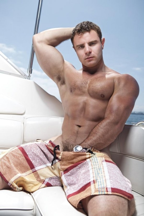 Hairy And Muscle Nick Sterling